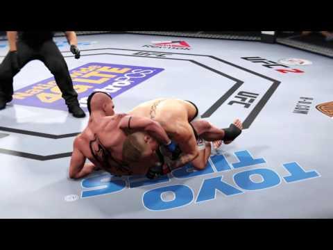 conor mcgregor vs. yuri boyka  ea sports ufc 2 super fight