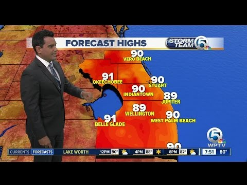 South Florida weather 6/24/17 - 7am report