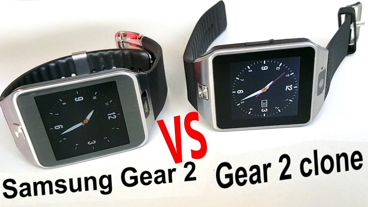 samsung gear 2 vs gear 2 clone comparison youtube. Black Bedroom Furniture Sets. Home Design Ideas