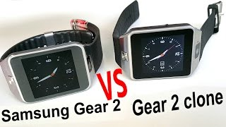 Samsung Gear 2 VS Gear 2 Clone comparison