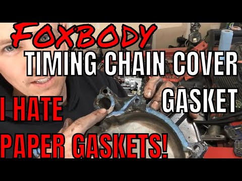 Timing Cover Gasket Replacement, Why I HATE Paper Gaskets!!!