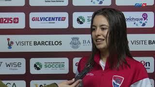 Mariana fez um hat-trick na 1.ª Eliminatória da Taça de Portugal