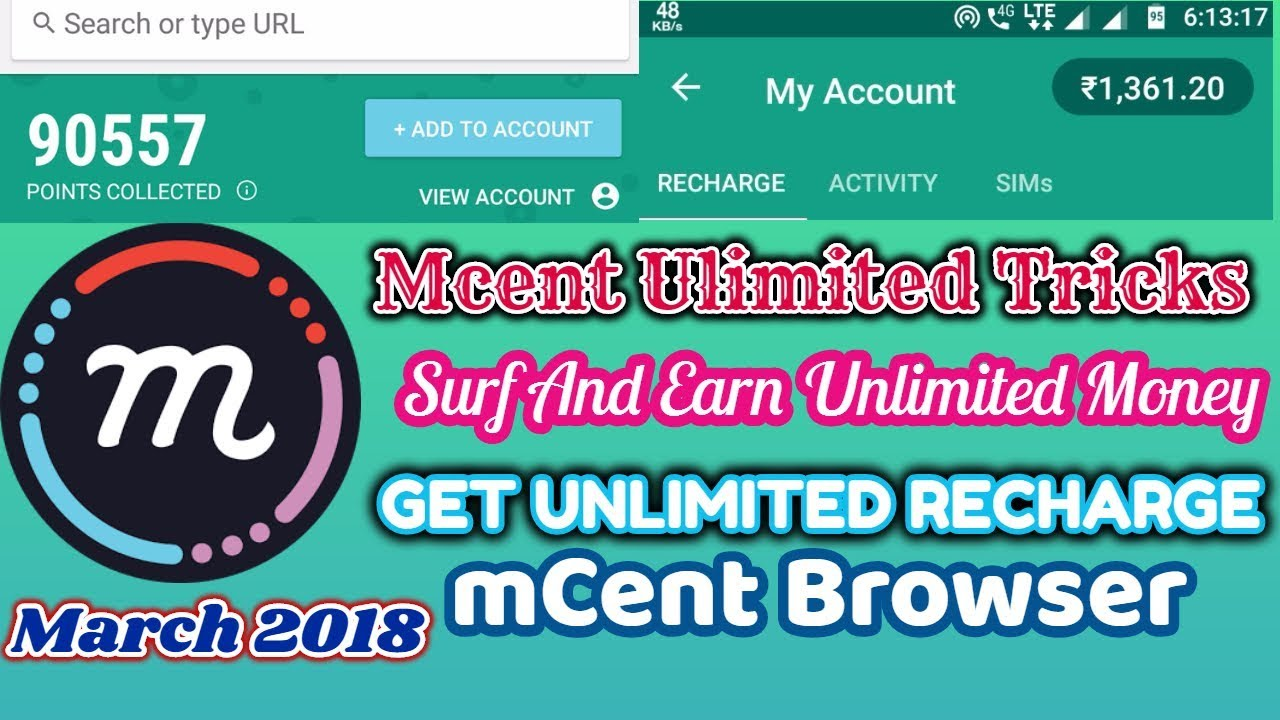 MCent Browser Unlimited Tricks |Earn Unlimited [POINTS] Step