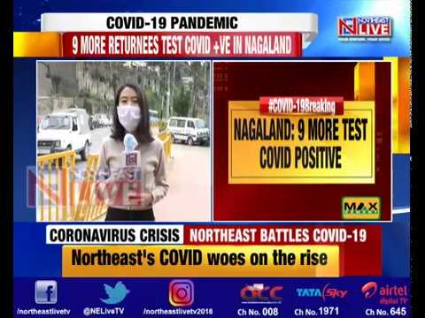 Nagaland reports 9 new COVID-19 positive cases; tally at 58