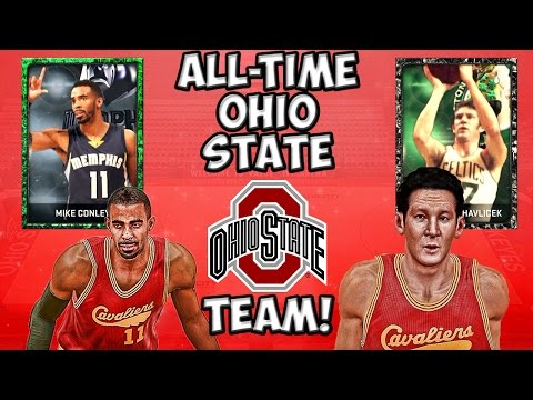 All-Time Ohio State Buckeyes Team - NBA 2K15 MyTeam - Onyx John Havlicek and Mike Conley