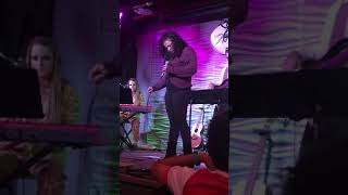 Emma  Spruill, live, nissis concert Boulder Music/Wildflower 10/30/18