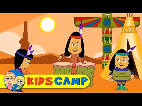 Ten Little Indians | Nursery Rhymes | 90 Minutes Compilation from Kidscamp