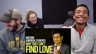 Kenny Sebastian Stand Up Comedy REACTION Doctors Medical Students Why They Can t Find Love