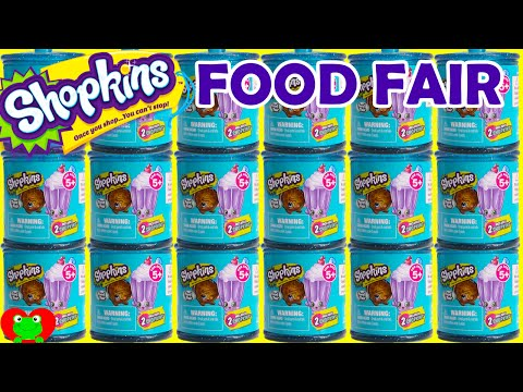 Shopkins Season 4 Food Fair Candy Jars Complete Set
