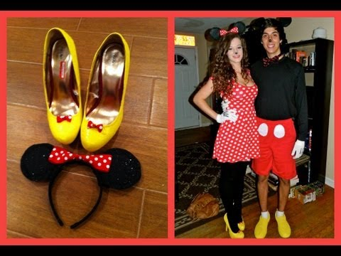 Minnie Mouse Tutorial (DIY Costume and Makeup)  sc 1 st  YouTube & Minnie Mouse Tutorial (DIY Costume and Makeup) - YouTube