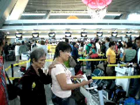 Inside NAIA Terminal 3  Part 1/5