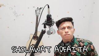 sholawat merdu adfaita [ cover Muhammad Herlambang ]