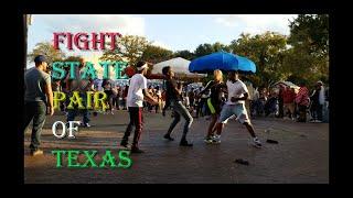 Fight At State Fair Of Texas. SỐNG Ở MỸ:ĐÁNH NHAU Ở STATE FAIR,DALLAS,TEXAS ,2019