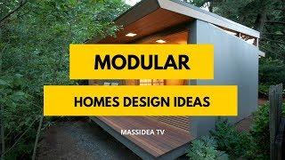 35+ Cool Modular Homes Design Ideas 2018