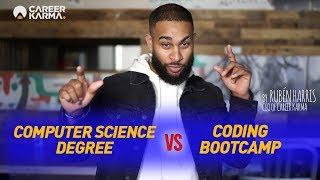 CS Degree vs Coding Bootcamp (2019) - by Rubén Harris, CEO of #CareerKarma