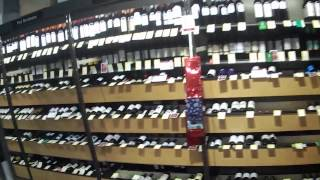 Shopping Inside Total Wine and Spirits in Fort Myers, Florida