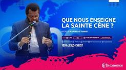 Que nous enseigne la sainte cène ? Pasteur MARCELLO TUNASI Culte du 12 Avril 2020
