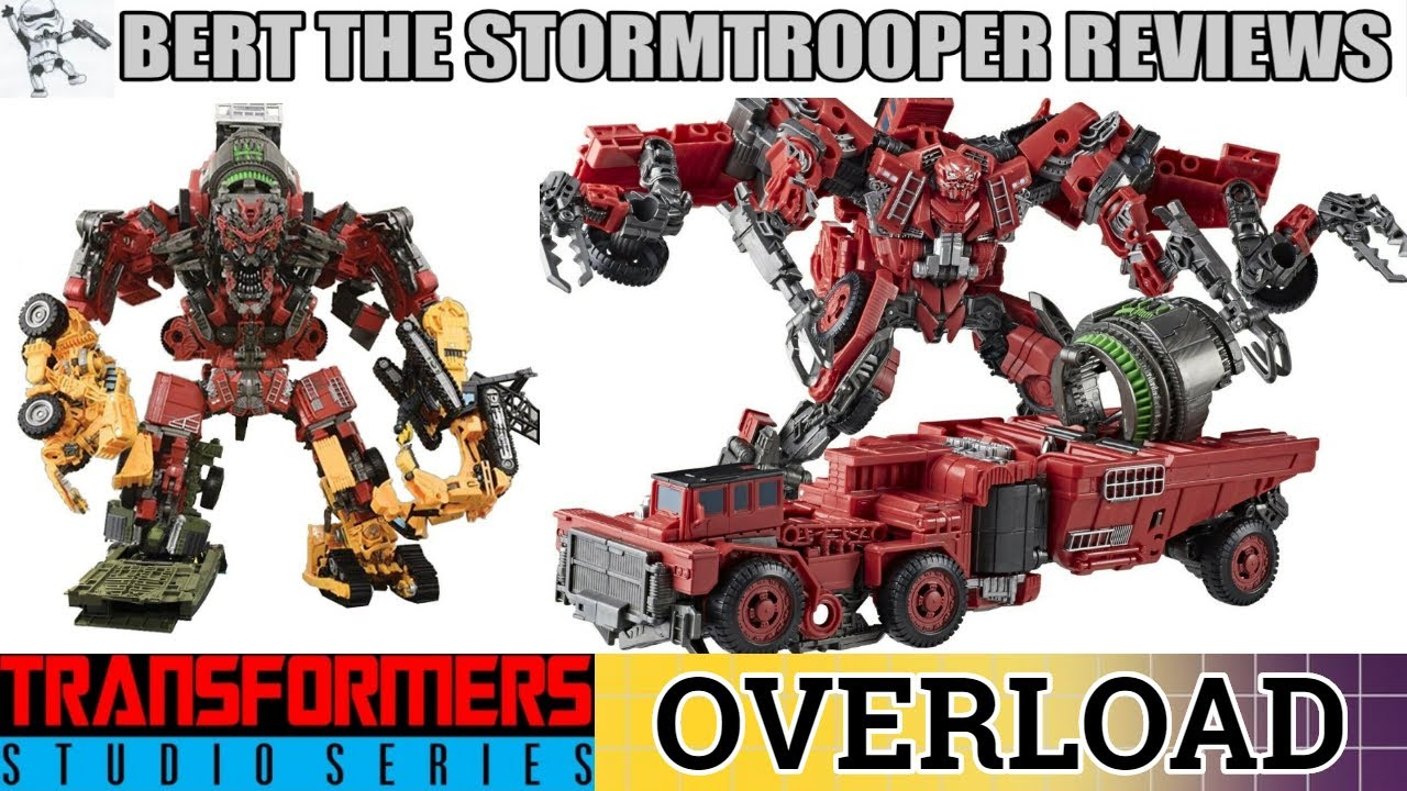 Studio Series 66 Constructicon OVERLOAD Review by Bert the Stormtrooper!