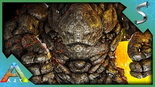 ENTERING THE LAVA GOLEMS LAIR FOR SOME OP LOOT! - Ark: Survival Evolved [Cluster E113]