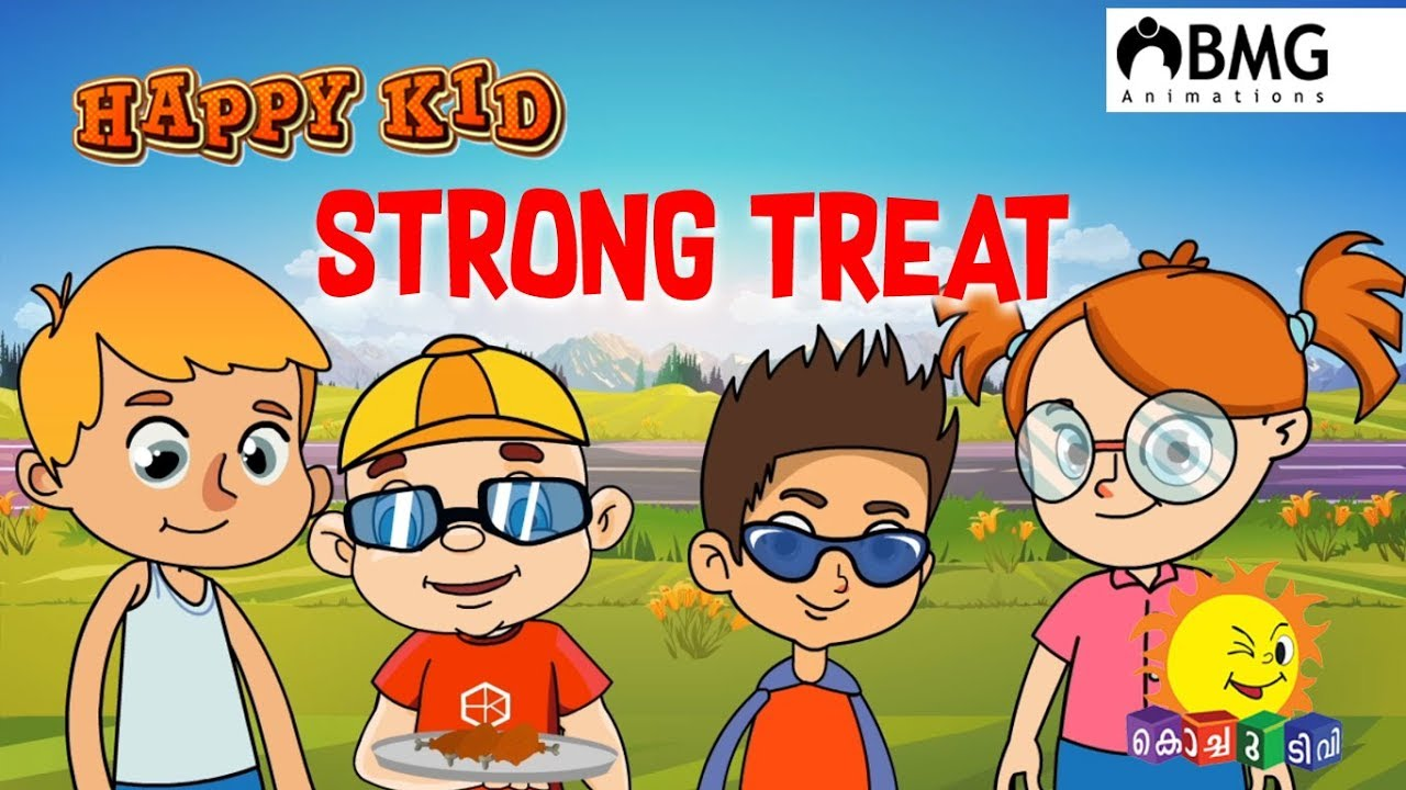 Happy Kid | Strong Treat | Episode 90 | Kochu TV ...