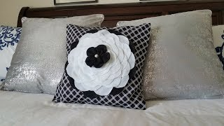 Diy Funda De Cojin Sin Coser | No Sew Cushion Cover