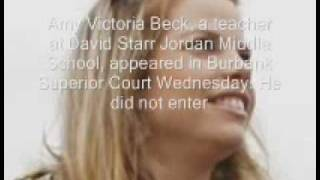 Amy Victoria Beck Arrested for Having Sex With Student.wmv