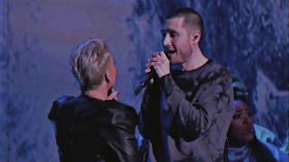 Previously, on... Bastille at the Brit Awards 2019 with P!nk
