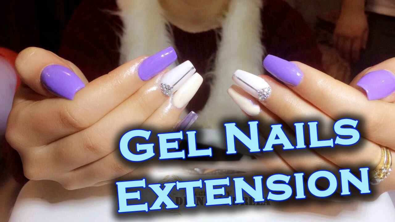 How To Gel Nails Extension