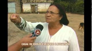 Casal de idosos é assaltado na zona rural de Santana da Vargem
