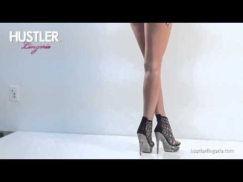 Шикарные туфли с кристаллами Hustler Lingerie