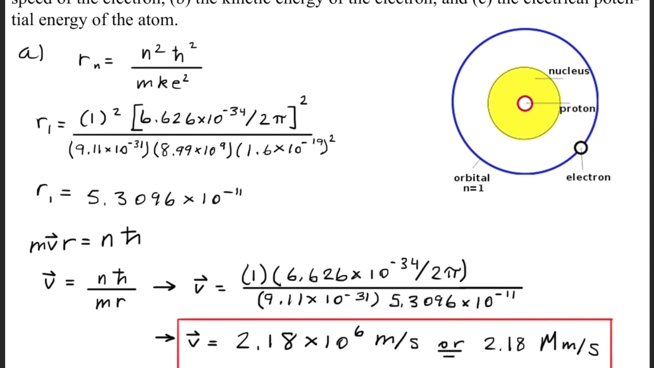 how to draw a bohr model for hydrogen