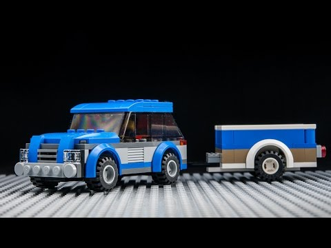 Stop Motion Tutorial For Custom Lego City Moc Suv Trailer