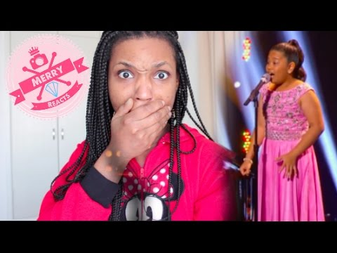 Elha Nympha Sings Chandelier Little Big Shots | Merry Reacts