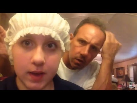 Head Lice Infestation Dad Reacts To Crawling Bugs In Kids Hair With Jokes And Puns