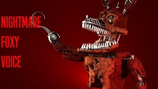 Video [FNAF SFM] Nightmare Foxy Voice [David Near] download MP3, 3GP, MP4, WEBM, AVI, FLV April 2018