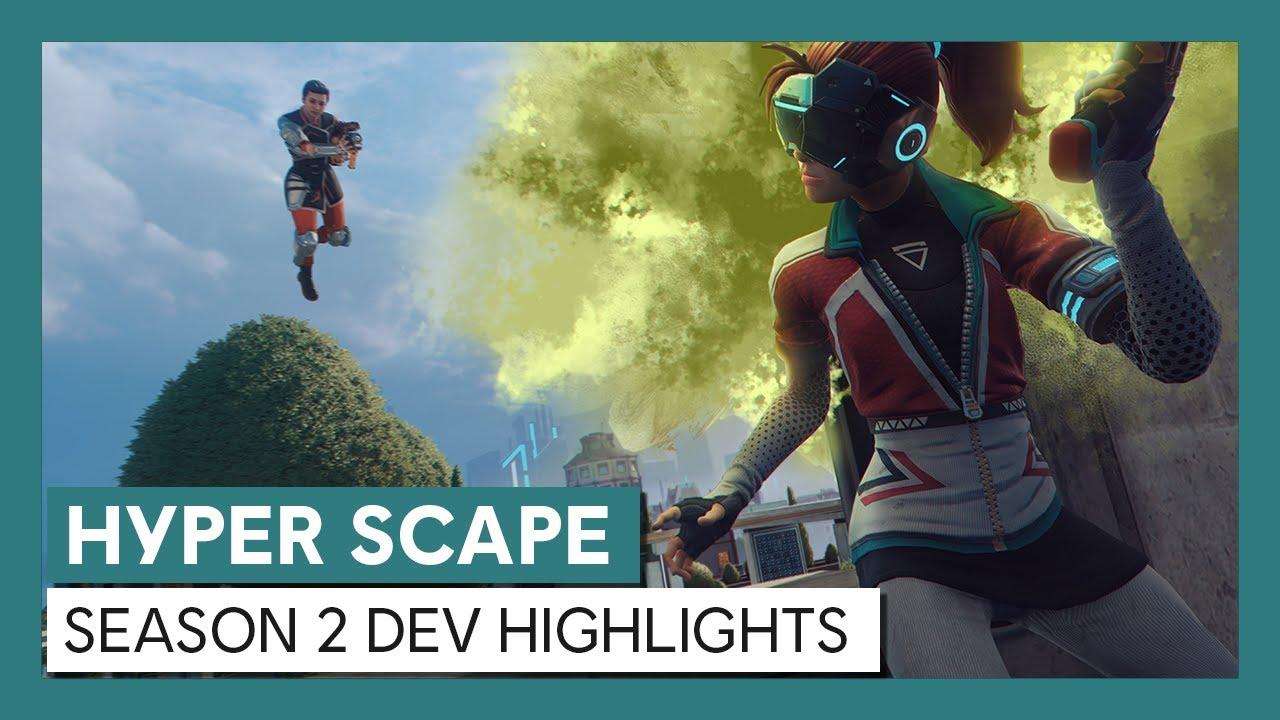 Hyper Scape: Season 2 Dev Highlights