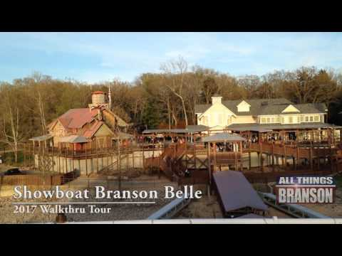 Showboat Branson Belle 2017 Walkthru Fun Things To Do In Branson Missouri
