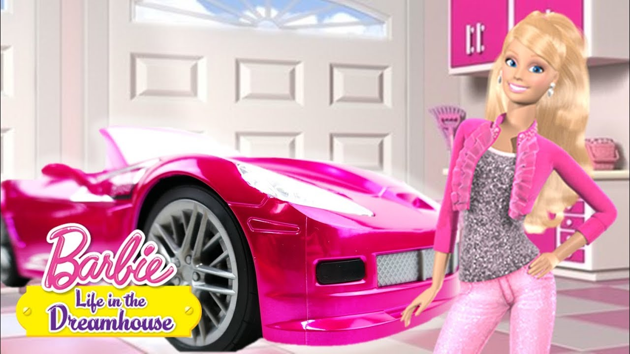 Barbie Cruisin' Corvette Remote Control Car Review - YouTube