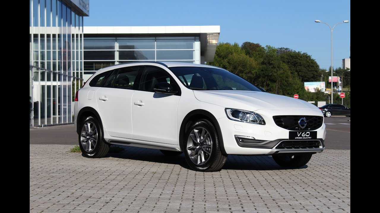 2018 Volvo V60 Cross Country Pro D4 AWD Ice White - YouTube