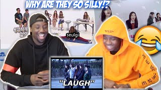 AN UNHELPFUL GUIDE TO RED VELVET (REACTION)