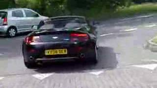 Aston Martin Vantage V8 2008 Test drive