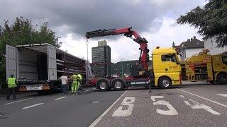NRWspot.de | LKW: 25t Ladung verrutscht – Märkischer Ring gesperrt – Verkehrsbehinderungen