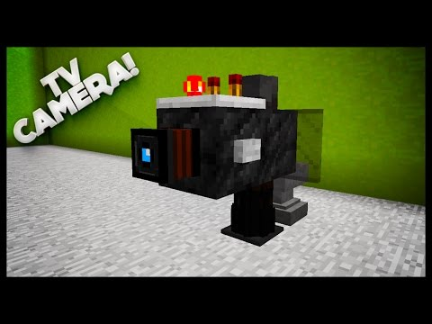 Minecraft: How To Make A TV Camera