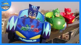 PJ Masks toys episode. PJ MASKS is here! We are on the move. beginning of a new mission.