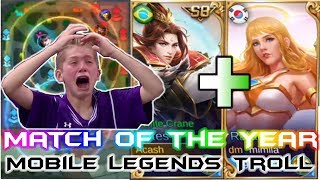 Estes Rafaela Together - Mobile Legends Troll Game | Mobile Legends Funny Match