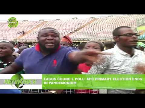 LAGOS COUNCIL POLL: APC PRIMARY ELECTION ENDS IN PANDEMONIUM