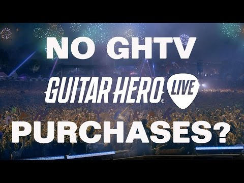 Guitar Hero Live News:  Can't Purchase Songs on GHTV? New Contest!
