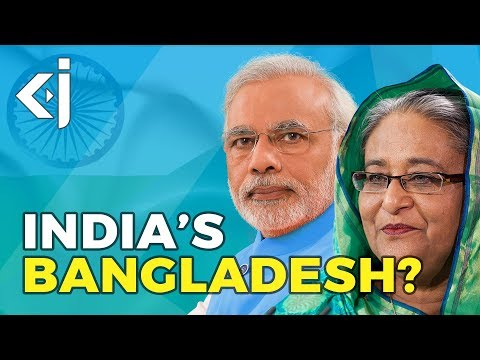Why does INDIA support BANGLADESH? - KJ Vids
