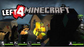 Lets play Left 4 Dead 2 / Left 4 Minecraft (German/Deutsch) Minecraft Mod