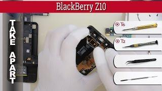 How to disassemble 📱 BlackBerry Z10 Take apart Tutorial